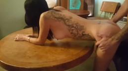Skinny Milf Fucks Her Boss at