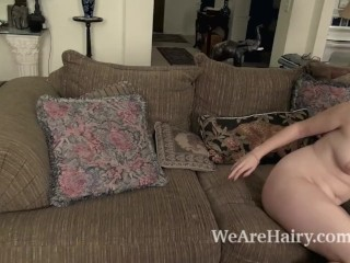 Kelly Morgan has a new dress and gets naked