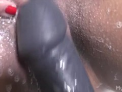Big Clit Big Dildo Masturbation