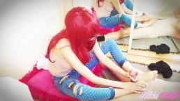 12 - My Naughty Stepsister - Part.1 : Lola's Gorgeous Feet - Nikki's WE #3