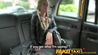 Preview 2 of FakeTaxi Sex toys critic takes a spanking