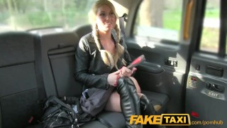 Preview 4 of FakeTaxi Sex toys critic takes a spanking
