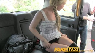Preview 5 of FakeTaxi Sex toys critic takes a spanking