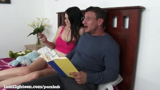 Preview 3 of Teen Slut Seduces Her Private Tutor!