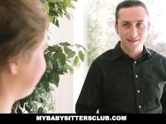 MyBabySittersClub – Teen Baby Sitter Caught and Fucked