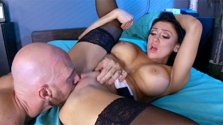 The Insomniac Sucker: Audrey Bitoni's Big Tits Get Fucked At The Hospital