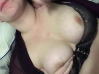 Cumin on some tits