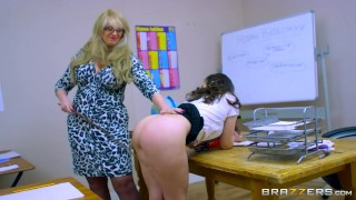 Brazzers - Dirty teen students fuck at school  natural riding teen huge-cock brazzers young school-girl natural-tits school kneesocks spanish heels teenager big titties tie