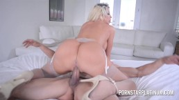 Courtney Taylor Takes On The Huge Cock of Leo Christianson