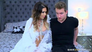 Brazzers - Dirty milf, Jessica Jaymes gets pounded  big tits big cock mom brazzers pounded milf brunette butt nylons socks heels shaved big boobs peircing natural tits glam fake tits