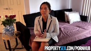 PropertySex - Thieving Asian real estate agent fucks her way out of trouble  point of view real estate agent asian real estate big cock hd asian amateur busted propertysex cowgirl reality deepthroat face fuck rough sex thief