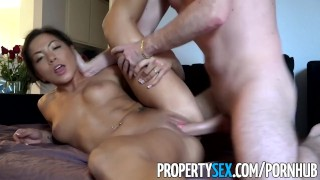 PropertySex - Thieving Asian real estate agent fucks her way out of trouble  real estate agent point of view asian real estate big cock hd asian amateur propertysex cowgirl reality deepthroat face fuck rough sex busted thief