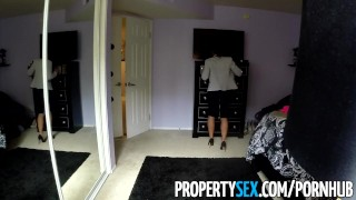 PropertySex - Thieving Asian real estate agent fucks her way out of trouble  point of view real estate agent asian real estate big cock hd asian amateur propertysex cowgirl reality deepthroat face fuck rough sex busted thief