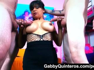 Spanish Teacher Gabby Quinteros Gets the Dick