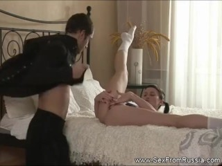 Anal Penetration For Russian Teen