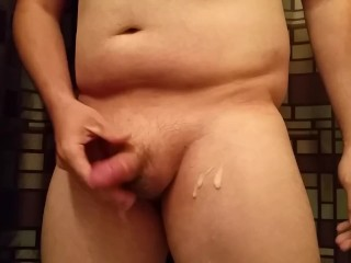 Quickie session before i jumped in the shower.