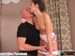 21sextreme grandpa blows load on tiny russian