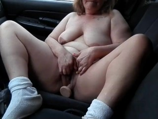 A Little Foreplay Before Cumming On My Black Dildo