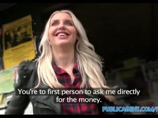 PublicAgent British Tall Blonde fucks stranger
