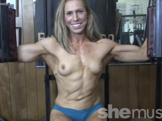 Sexy Denise Works Out