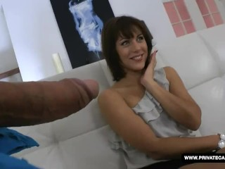 Galina Galkina loves anal and visits private's casting couch
