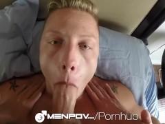 MenPOV - Ace Stone & Owen Powers Fuck in 2 Way POV