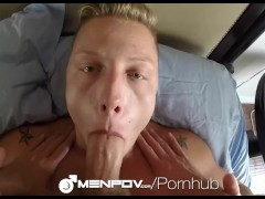 MenPOV - Ace Stone & Owen Powers Fuck in 2 Way POV