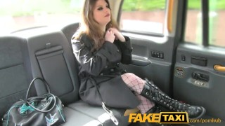 FakeTaxi kinky customer underwear fetish  point of view big tits lingerie british fishnet blowjob goth public pov faketaxi rimming spycam brunette rough gagging deepthroat carsex
