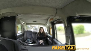 FakeTaxi kinky customer underwear fetish  point of view big tits lingerie british fishnet blowjob goth public pov rimming spycam brunette rough gagging deepthroat faketaxi carsex