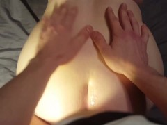 SlinkySex - Our 1st Video! POV Fucking From Behind