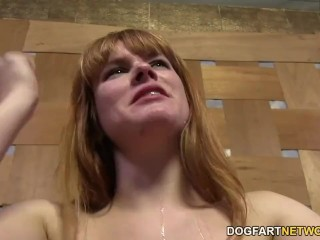 Claire Robbins Double Penetrated by Big Black Cocks