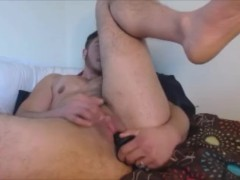 FTM TRANSMAN TRANSGENDER SOLO HARD PUSSY FUCK,PLAYS WITH BIG CLIT & ASSHOLE