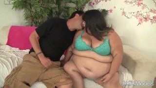 Horny Asian plumper Sugar gets fucked hard  hardcore jeffsmodels bbw chunky chubby fat asian