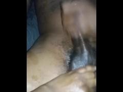 Jacking my horse dick