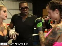 Ronda Arouse Me UFC Lesbian Facesitting