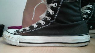 Trampling CBT by Converse all stars cbt femdom kick converse trample chucks shoes foot