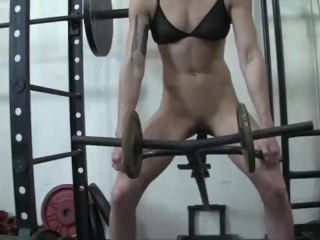 Charlotte Creates A Gym Fuck Machine