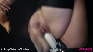 Remy Lacroix fucked with a strapon by Dana Dearmond dildo girl on girl ass licking spanking eating pussy babe fingering remy lacroix archangelvideo strap on dana dearmond brunette natural tits adult toys booty doggystyle