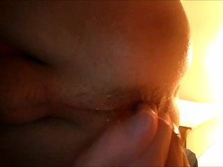 fingering my ass for the first time hardcore creampie anal cum