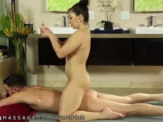 NuruMassage New Stepmom Tastes her Son