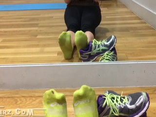 Yellow Ankle Socks