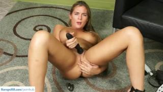 KarupsHA - Busty Blair Williams Dildos Pussy