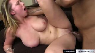 Brooke Wylde in hardcore interracial black fuck