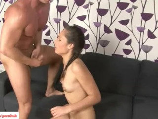 KarupsPC - Angie Kazdo Fucked Doggystyle On Sofa