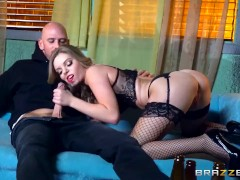 Trisha Parks gets her feet fucked - Brazzers