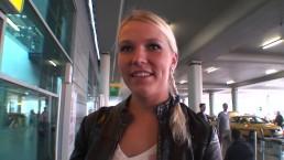 Krásná česká blondýnka dvakrát postříkaná