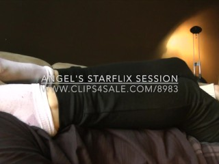 Angel's Starflix Session - www.clips4sale.com/8983/15516966