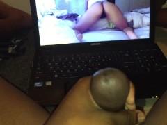 Me masturbating to Mia Khalifa's sexy ass