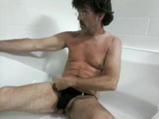 StripAndMore pnp nude in ice bath