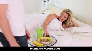 FamilyStrokes - Mothers Day Threesome With Step-Mom  step-mother blonde step-daughter busty adria bigtits smalltits brunette danica familystrokes petite 3some threesome small-tits step-mom facialize group facial
